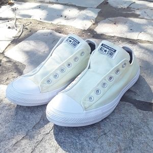 Converse All Star Canvas Slip On Shoe Womens 10